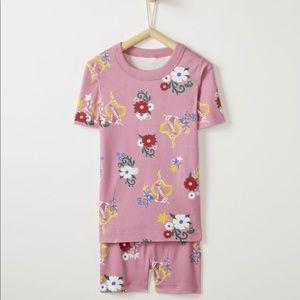 Hanna Andersson Rapunzel Short John Pajamas 2T
